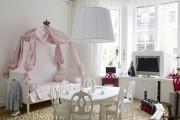 Фото 38 Дизайн детской комнаты для девочек: 100 фото воплощений розовой мечты