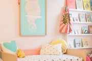 Фото 47 Дизайн детской комнаты для девочек: 100 фото воплощений розовой мечты