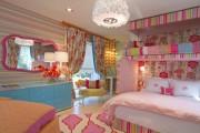 Фото 49 Дизайн детской комнаты для девочек: 100 фото воплощений розовой мечты