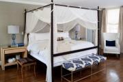 Фото 7 Кровать с балдахином: 90 идей царственной романтики в дизайне спальни (фото)