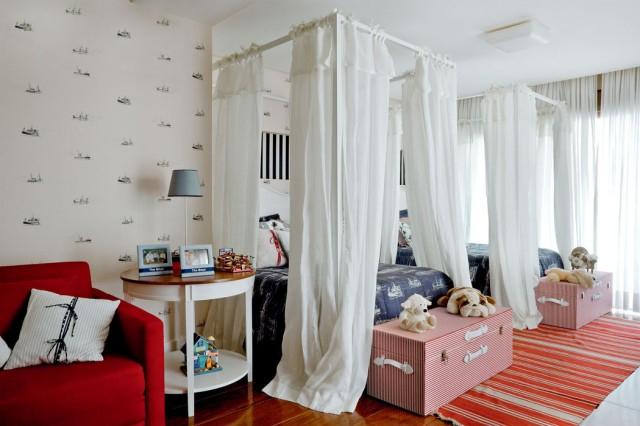 Балдахин как красивый элемент дизайна кровати