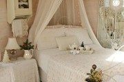 Фото 23 Кровать с балдахином: 90 идей царственной романтики в дизайне спальни (фото)