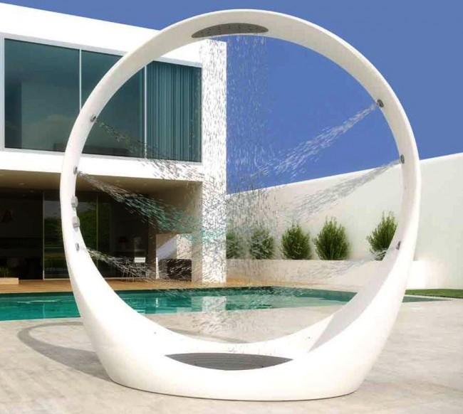 Летний душ для дачи: 65 освежающих идей на фото