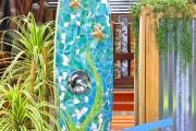 Фото 3 Летний душ для дачи: 65 идей освежающего оазиса среди палящего зноя (фото)