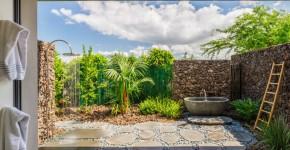 Летний душ для дачи: 65 идей освежающего оазиса среди палящего зноя (фото) фото