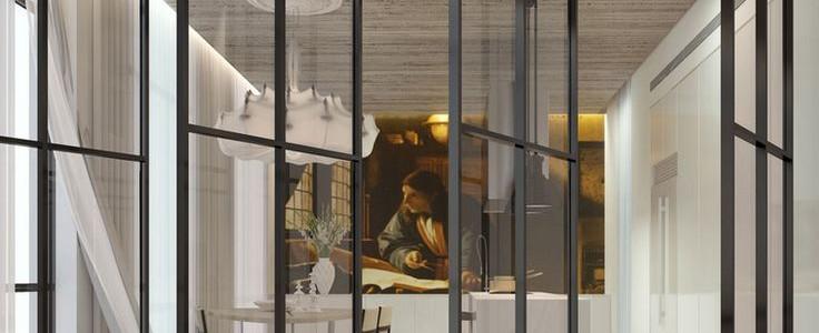 Межкомнатные двери: 65 идей для органичного завершения интерьера (фото)