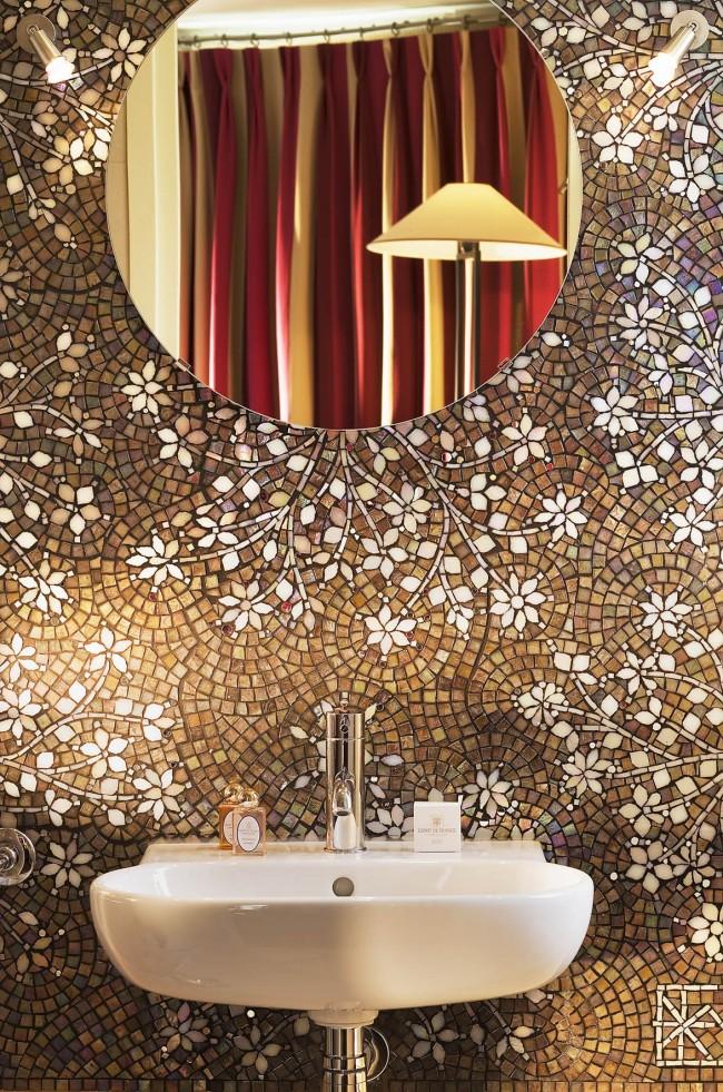 Шикарный узор из мозаики подчеркнет ваши чувство вкуса и индивидуальность