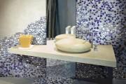 Фото 8 70 Идей мозаики в ванную комнату: когда дизайн интерьера становится произведением искусства (фото)