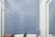 Фото 11 70 Идей мозаики в ванную комнату: когда дизайн интерьера становится произведением искусства (фото)