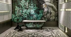 70 Идей мозаики в ванную комнату: когда дизайн интерьера становится произведением искусства (фото) фото