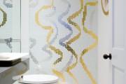 Фото 22 70 Идей мозаики в ванную комнату: когда дизайн интерьера становится произведением искусства (фото)