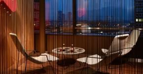 Нитяные шторы: 55 альтернативных идей с кисеей взамен традиционных занавесей (фото) фото