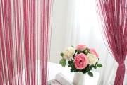 Фото 20 Нитяные шторы: 55 альтернативных идей с кисеей взамен традиционных занавесей (фото)