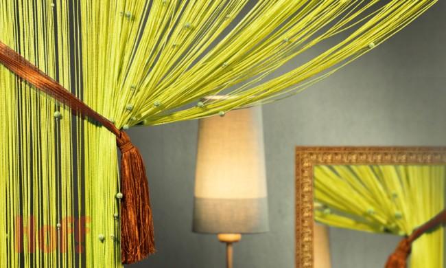 Нитяные шторы пришли к нам с Востока и на сегодняшний день пользуются большим успехом в европейских странах