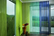 Фото 7 Нитяные шторы: 55 альтернативных идей с кисеей взамен традиционных занавесей (фото)
