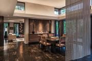 Фото 21 Нитяные шторы: 55 альтернативных идей с кисеей взамен традиционных занавесей (фото)