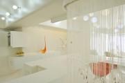 Фото 23 Нитяные шторы: 55 альтернативных идей с кисеей взамен традиционных занавесей (фото)