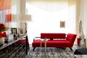Фото 26 Нитяные шторы: 55 альтернативных идей с кисеей взамен традиционных занавесей (фото)