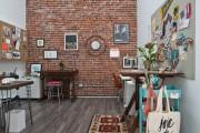 Фото 7 Обои под кирпичную кладку: 45 идей кирпичных мотивов для ваших стен (фото)