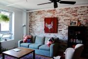 Фото 10 Обои под кирпичную кладку: 45 идей кирпичных мотивов для ваших стен (фото)