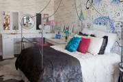 Фото 21 Обои под кирпичную кладку: 45 идей кирпичных мотивов для ваших стен (фото)