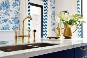 Фото 19 Выбираем обои для кухни: 100 трендовых решений для современных и классических интерьеров