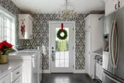 Фото 31 Выбираем обои для кухни: 100 трендовых решений для современных и классических интерьеров