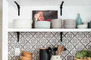 Фото 4 Выбираем обои для кухни: 100 трендовых решений для современных и классических интерьеров