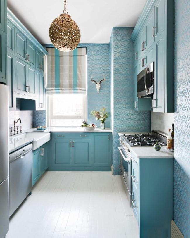 Наиболее подходящие обои для кухни - это флизелиновые, благодаря своим многочисленным выгодным качествам