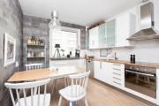 Фото 27 Выбираем обои для кухни: 100 трендовых решений для современных и классических интерьеров