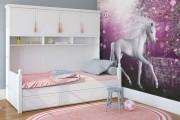 Фото 12 Фотообои для спальни: Арт в креативных интерьерах, 75 Фото