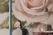 Фото 8 Фотообои для спальни: Арт в креативных интерьерах, 75 Фото
