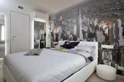 Фото 14 Фотообои для спальни: Арт в креативных интерьерах, 75 Фото