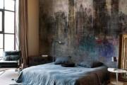 Фото 15 Фотообои для спальни: Арт в креативных интерьерах, 75 Фото