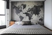 Фото 3 Фотообои для спальни: Арт в креативных интерьерах, 75 Фото
