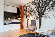 Фото 2 Фотообои для спальни: Арт в креативных интерьерах, 75 Фото