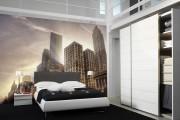 Фото 27 Фотообои для спальни: Арт в креативных интерьерах, 75 Фото