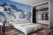 Фото 35 Фотообои для спальни: Арт в креативных интерьерах, 75 Фото