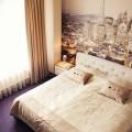 Фотообои для спальни: Арт в креативных интерьерах, 75 Фото фото
