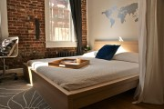 Фото 17 Фотообои в спальне: 115 идей дизайна с невероятными картинами на всю стену