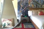 Фото 26 Фотообои в спальне: 115 идей дизайна с невероятными картинами на всю стену