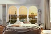 Фото 30 Фотообои в спальне: 115 идей дизайна с невероятными картинами на всю стену