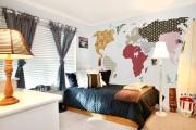 Фото 39 Фотообои в спальне: 115 идей дизайна с невероятными картинами на всю стену