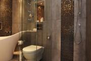 Фото 12 75 Ярких идей плитки в ванную: сочетание красоты и практичности (фото)