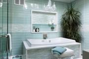 Фото 14 75 Ярких идей плитки в ванную: сочетание красоты и практичности (фото)