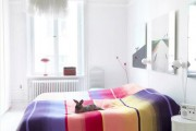 Фото 15 Покрывало на кровать: произведение искусства в вашей спальне (80 фото)