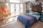 Фото 18 Покрывало на кровать: произведение искусства в вашей спальне (80 фото)