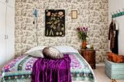 Фото 22 Покрывало на кровать: произведение искусства в вашей спальне (80 фото)