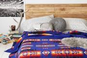 Фото 36 Покрывало на кровать: произведение искусства в вашей спальне (80 фото)
