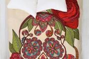 Фото 5 Покрывало на кровать: произведение искусства в вашей спальне (80 фото)
